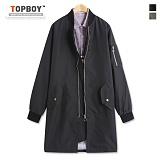 [탑보이] 오버핏 야상 자켓 (HN056) 코트