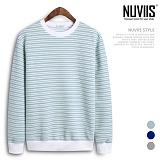 [뉴비스] NUVIIS - 단가라 엠보 맨투맨티셔츠 (NB161MT)