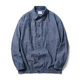 [파르티멘토]Denim Coach Shirt Jacket Navy 데님코치자켓 셔츠자켓