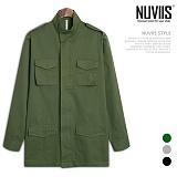 [뉴비스] NUVIIS - 베이직 포켓 야상자켓 (RG026JK)
