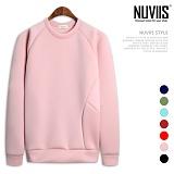 [뉴비스] NUVIIS - 네오프렌 나그랑 베이직 맨투맨 티셔츠 (TR140MT)