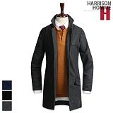 [해리슨] HARRISON 멜톤 오버 핏코트 DB1100