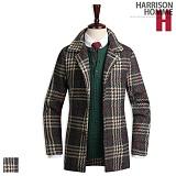 [해리슨] HARRISON 쥐돌이 체크코트 DB1097