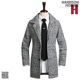 [해리슨] HARRISON 글렌 제비 체크코트 DB1096
