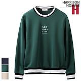 [해리슨] HARRISON NYC 요꼬 맨투맨 RT1079