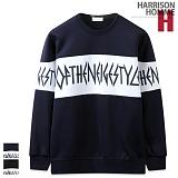 [해리슨] HARRISON 레터링 맨투맨 RT1074