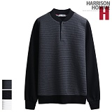 [해리슨] HARRISON 엠보 헨리넥 맨투맨 RT1069