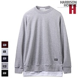 [해리슨] HARRISON 레이어드 맨투맨 MJ1067