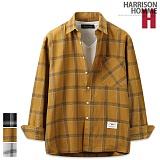 [해리슨] HARRISON 루즈핏 6번 체크 셔츠 MT1346
