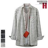 [해리슨] HARRISON 루즈핏 3번 체크 셔츠 MT1304