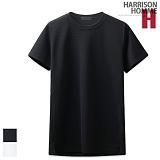 [해리슨] HARRISON 레이어드 엠보 롱 반팔티셔츠 CL1179