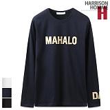 [해리슨] HARRISON 마하로 자수 R 긴팔티 MJ1053