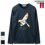 [해리슨] HARRISON 무지개 새 R 긴팔티 MJ1049
