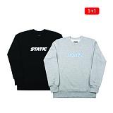 [1+1][아이넨]EINEN-Static MTM Sweatshirts 크루넥 스��셔츠 맨투맨