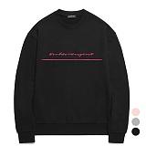 [특가할인]밴웍스 자수 포인트 스웨트셔츠 (VNAGTS011)_3colors 오버핏 쭈리 맨투맨
