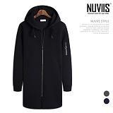 [뉴비스] NUVIIS - 네오프렌 소매지퍼 롱 후드집업 (RT148HDZ)