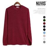 [뉴비스] NUVIIS - 미르 심플 라운드 니트 (NB168KN)