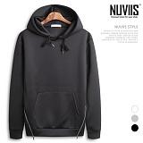 [뉴비스] NUVIIS - 네오프렌 양지퍼 후드티셔츠 (NB171HD)