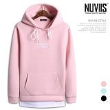 [뉴비스] NUVIIS - 네오프렌 레이어드 후드티셔츠 (CS052HD)