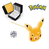 Pokemon 포켓몬스터 쥬얼리 캐릭터 귀걸이 14K 골드 귀걸이