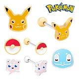Pokemon 포켓몬스터 쥬얼리 캐릭터 피어싱 모음 귀걸이