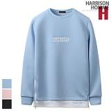 [해리슨] HARRISON 레이어드 자수 맨투맨 CS1271