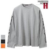 [해리슨] HARRISON 레터링 나염 롱 슬리브 CS1270
