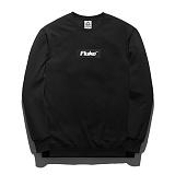 [플루크]FLUKE 17 S/S box logo 크루넥 맨투맨 티셔츠 FMT017C306BK 크루넥 스��셔츠