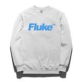 [플루크]FLUKE 17 S/S TM logo 크루넥 맨투맨 티셔츠 FMT017C305WH 크루넥 스��셔츠