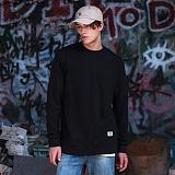 [플루크]FLUKE 17 S/S premium 무지 크루넥 맨투맨 티셔츠 FMT017C301BK 크루넥 스��셔츠