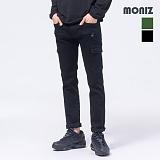 [모니즈] MONIZ 지퍼 포켓 카고 면바지 PCT041