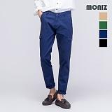 [모니즈] MONIZ 워싱 카고 포켓 면바지 PCT023