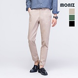 [모니즈] MONIZ 개버딘 밴딩 면바지 PCT001
