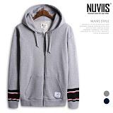 [뉴비스] NUVIIS - 디자인 소매 후드집업 (MD041HDZ)