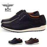 [보이런던] boylondon 남성 포멀 컴포트 스니커즈 (블랙) 600bl-몬스터 정장 신발 단화 합성 가죽