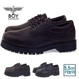 [보이런던] boylondon 남성 5.5cm 키높이 캐주얼 마틴 단화 워커(브라운)587-저스틴 남자 구두 로퍼 신발