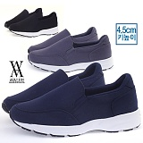 [에이벨류]남성 4.5cm 키높이 캐주얼 컴포트 슬립온 스니커즈(블랙.네이비.그레이) 577-리베스 남자 신발 런닝화 단화 패션