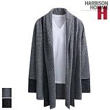 [해리슨] HARRISON 모자이크 이중 숄 배색 가디건 RT1022
