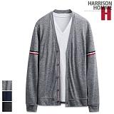 [해리슨] HARRISON 양쪽 소매 테이프 가디건 RT1018
