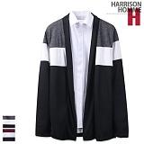 [해리슨] HARRISON 삼단 절개 숄 가디건 RT1008