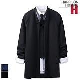 [해리슨] HARRISON 와플 차이나 숄 가디건 RT1007