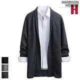 [해리슨] HARRISON 모자이크 롱 숄 가디건 RT1005