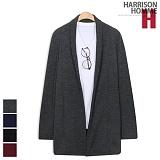 [해리슨] HARRISON 와플 숄 자켓가디건 CS1163