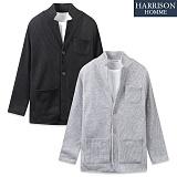 [해리슨] HARRISON 핫찌 네모 자켓가디건 CS1121