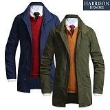 [해리슨] HARRISON 차이나 트렌치 하프 RM1056
