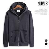 [뉴비스] NUVIIS - 롱지퍼 심플 후드집업 (MD044HDZ)
