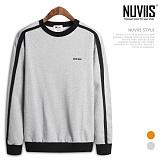 [뉴비스] NUVIIS - 매드 라운드 맨투맨 티셔츠 (MD049MT)