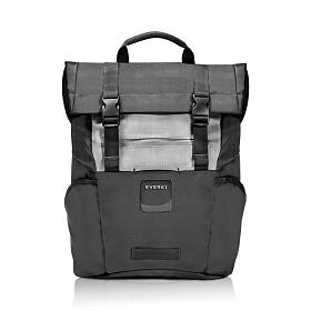 [에버키] contemPRO Roll Top Backpack 컨템프로 EKP161 블랙 15.6인치