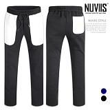[뉴비스] NUVIIS - 포켓 배색 일자핏 트레이닝팬츠 (MD060LPT)