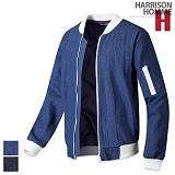 [해리슨] HARRISON 배색 데님 블루종 RM1224